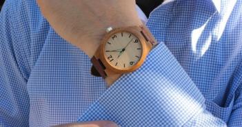 treehut wooden watch